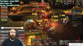 KING'S REST +20: 477 Fury Warrior (83k DPS) - WoW BFA 8.3 Mythic+ Dungeon