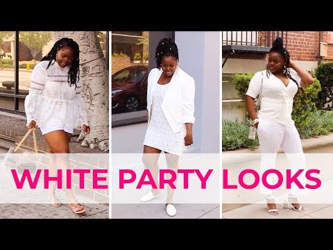 HOW TO STYLE ALL WHITE FOR AN ALL WHITE EVENT (LOOKBOOK)