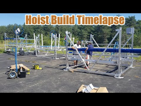 ShoreMaster Hoist build Timelapse