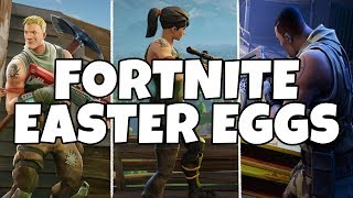 5 New Easter Eggs & Secrets In Fortnite: Battle Royale