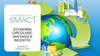 SMACT Webinar | Economia Circolare
