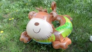 Надувной плавательный круг для плавания игрушка обезьяна Intex 58221 66х56см(, 2017-05-02T19:40:16.000Z)