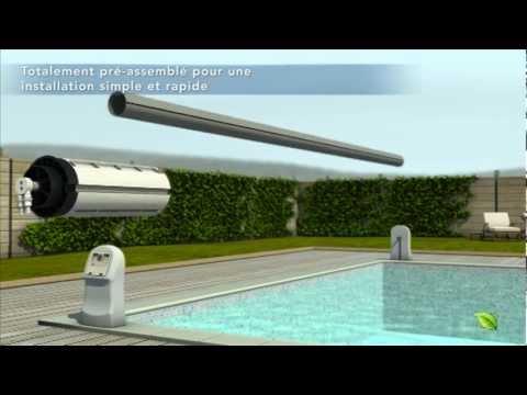 hydro inside le moteur eau pour couverture de piscine par aqualife youtube. Black Bedroom Furniture Sets. Home Design Ideas