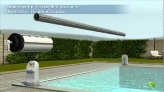 HYDRO inside : le moteur à eau pour couverture de piscine par Aqualife