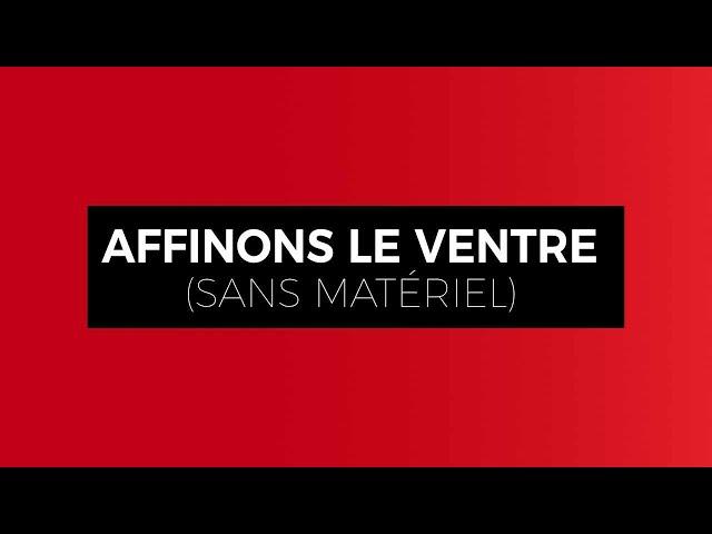 Affinons Notre Ventre En Restant À La Maison Avec Clément De Canal Gym Beziers Sans Matériel