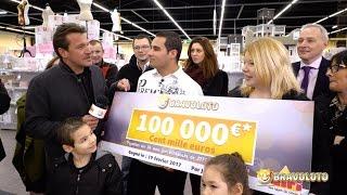 Émotion avec Benjamin Castaldi : Remise du chèque au grand gagnant Bravoloto