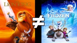 24 Reasons The Lion King & Frozen Are Different