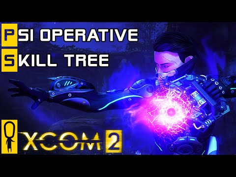 XCOM 2 - Psi Operative NEW Class - Skill Tree Breakdown - Preview Gameplay