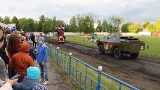 Armored car VS Russian auto transformer