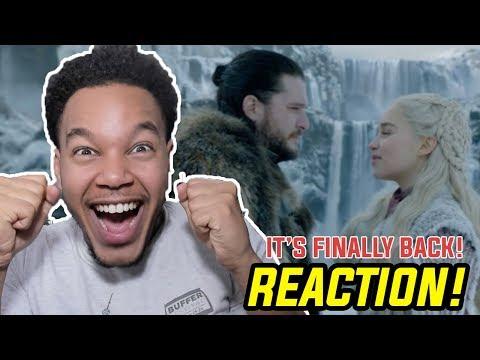 Game of Thrones Season 8 Episode 1 'Winterfell' REACTION!