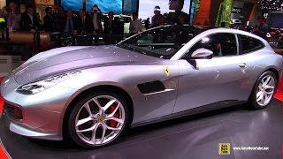2017 Ferrari GTC4 Lusso T - Exterior and Interior Walkaround - Debut at 2016 Paris Motor Show