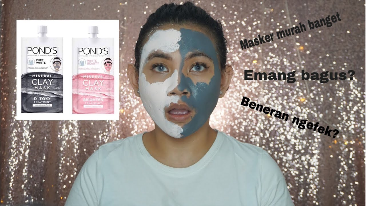 Ponds Pure White Mineral Clay Mask White Beauty Mineral Clay Mask Review Ugrwm Youtube