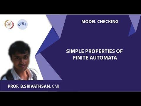 Unit 4 - Module 3: Simple properties of finite automata