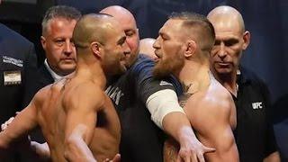 Конор МакГрегор - Эдди Альварес. Лучшие моменты боя. UFC 205. Эфир 12.11.2016