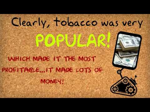 What was tobacco to the Jamestown settlers?