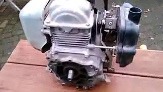 Honda GX-100 (GX100) работа бензинового двигателя(, 2017-12-21T02:08:54.000Z)