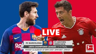 Uefa champions league - spanish la liga representatives, barcelona will face a tough test by facing representatives from the german bundesliga, bayern munich...