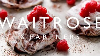 Mini Chocolate Pavlovas | Waitrose & Partners