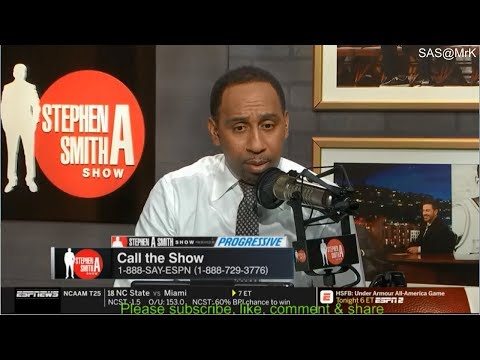 Stephen A. Smith Show 1/3/2019 Antonio Brown, NFL Coach firings