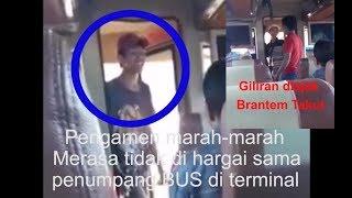 PENGAMEN SOK JAGOAN Marah-Marah Sama Penumpang BUS, Giliran Ditantangin Brantem KETAKUTAN