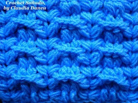 Crochet Jersey Stitch :  CROCHET STOCKINETTE RIBBING STITCH / PUNTO JERSEY EL?STICO CROCHET ...