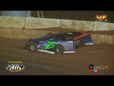 Crate Late Model LEFTOVER Feature $1,500 411 Motor Speedway Nov  25, 2017