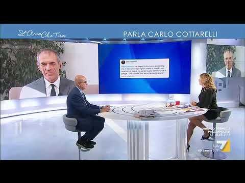 """Carlo Cottarelli commenta le parole di Boris Johnson sul Covid: """"Qui ci vuole Totò, ma mi ..."""