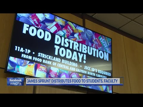 Single Stop Program feeds students, faculty at James Sprunt Community College