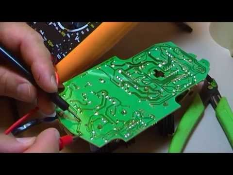 Reparacion de cargador de baterias de taladro por caida - Cargador de baterias ...
