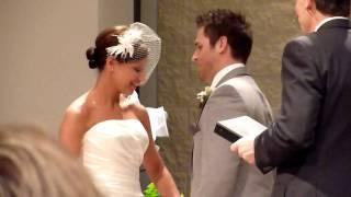 Chris Kisses His Bride