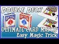 Impossible Double Deck Card Prediction | Card at Any Number - Easy Magic trick