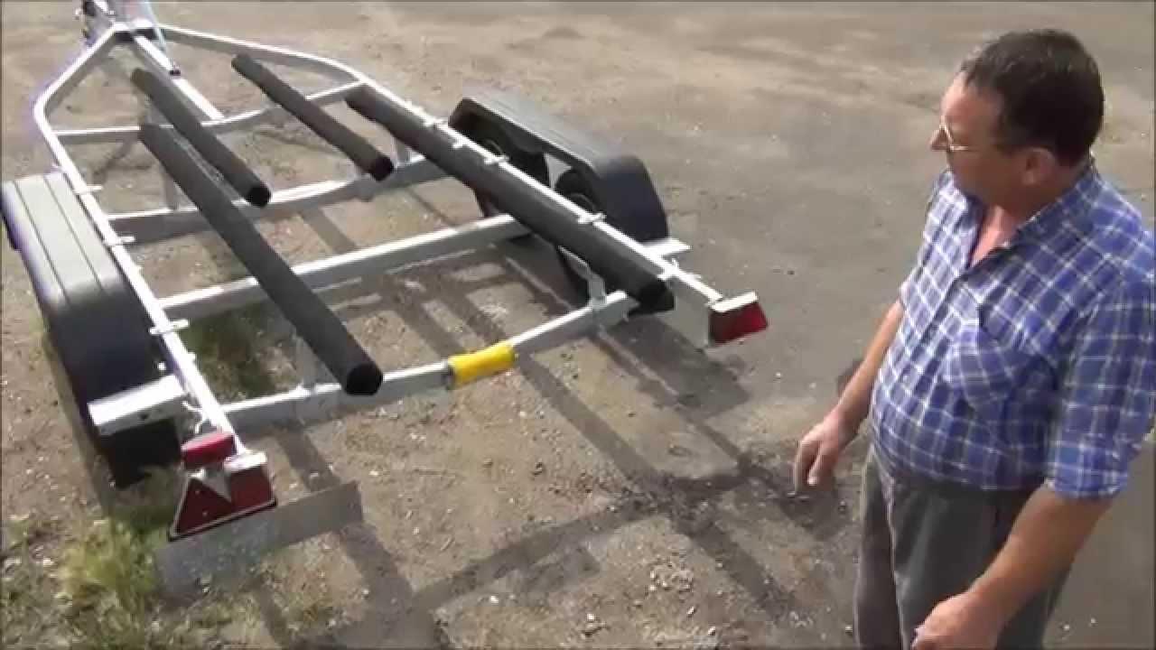 видео лодочного прицепа