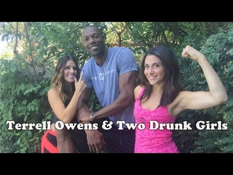 Terrell Owens and Two Drunk Girls