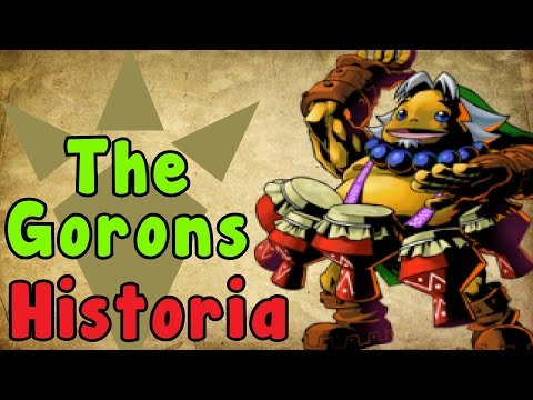 Zelda Theory - The Goron HISTORY And EVOLUTION