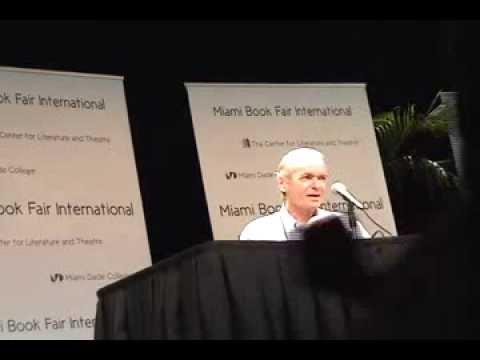 Martin Amis Event at Miami Book Fair International 2012
