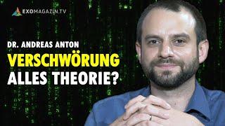 Konspiration: Die Soziologie der Verschwörungstheorie - Robert Fleischer trifft Dr. Andreas Anton