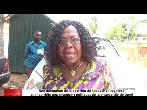 « Rien ne va au Togo. Le Togo doit changer et il changera », dixit Brigitte ADJAMAGBO-JOHNSON