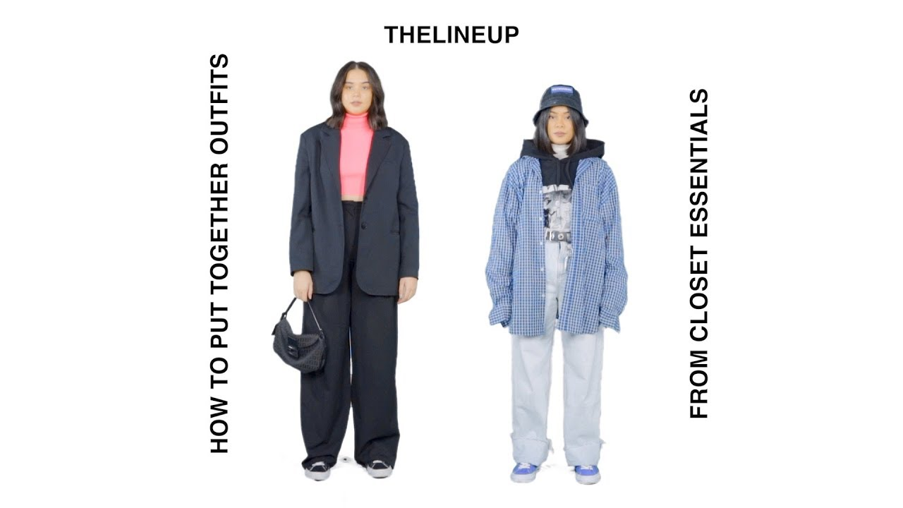how to put together outfits from closet essentials: fall/winter 6