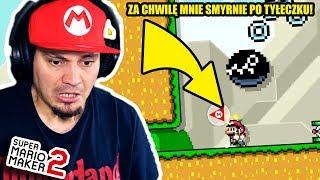🤔 CZY PIESEK SMYRNIE MARIANA PO PUPCE?   Super Mario Maker 2 #07