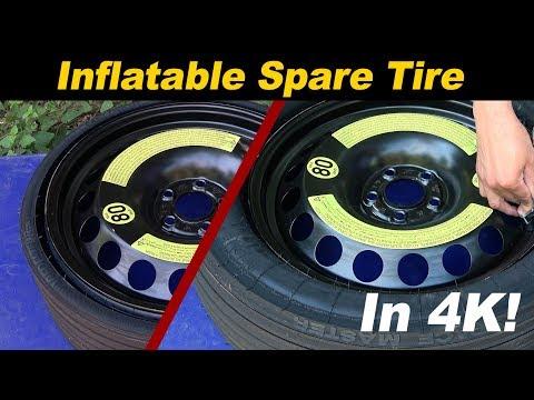 Expandable / Inflatable Spare Tire - Porsche, Audi, Volkswagen, Mercedes, Ferrari, Holden