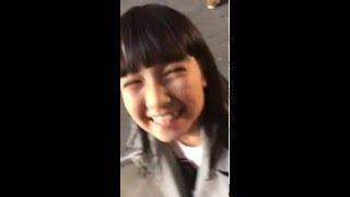 宮脇咲良 - Miyawaki Sakura 【HKT48】- with 今村麻莉愛 - 2015.12.27.