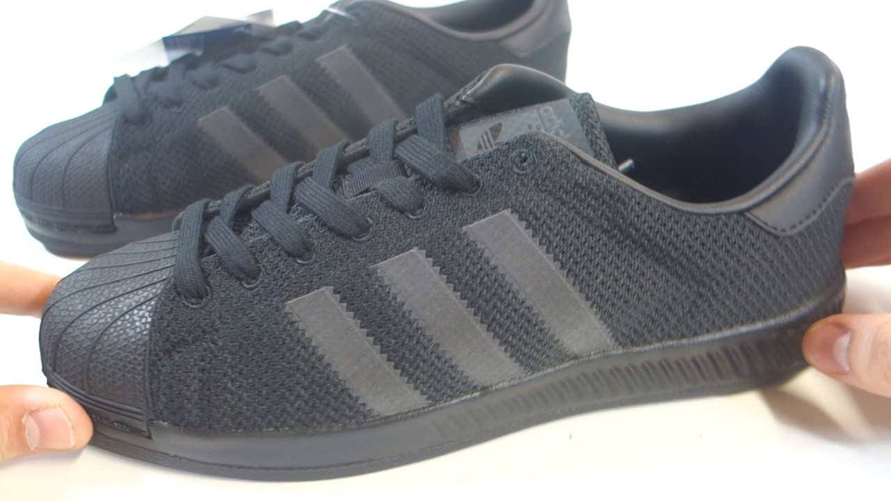 adidas superstar bounce noir