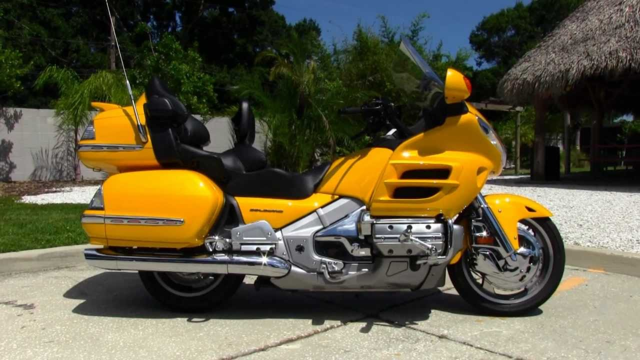 used 2010 honda goldwing gl1800 motorcycles for sale youtube. Black Bedroom Furniture Sets. Home Design Ideas
