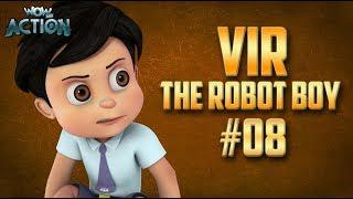 Vir: The Robot Boy | Hindi Cartoon Compilation For Kids | Compilation 08 | WowKidz Action