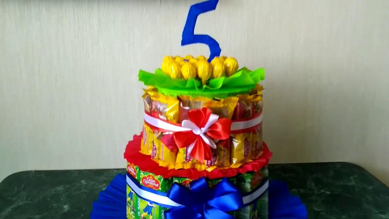 Детский тортик своими руками фото 70