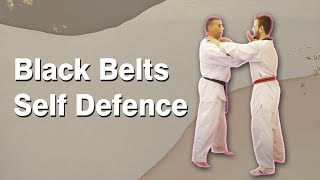 Black belts self defence