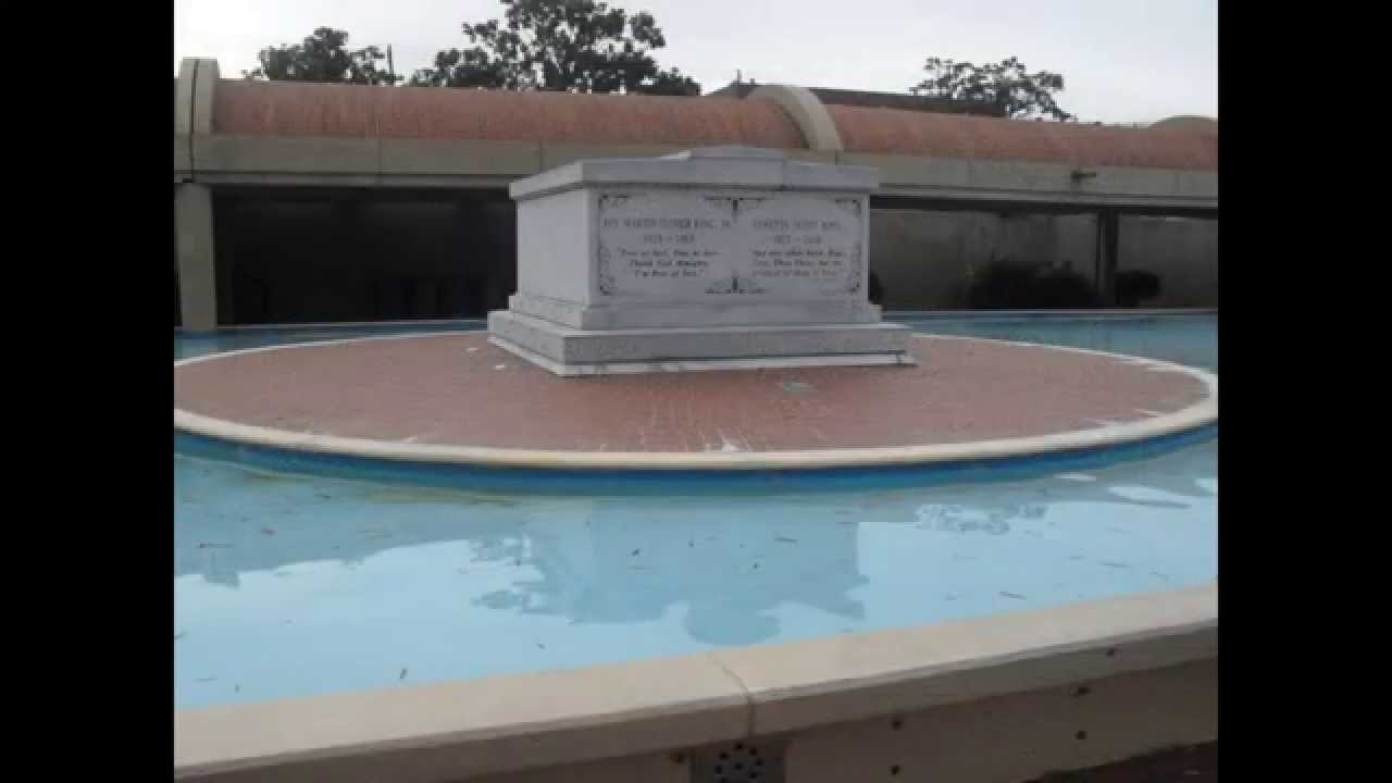 Martin Luther King Jr Grave Home Youtube