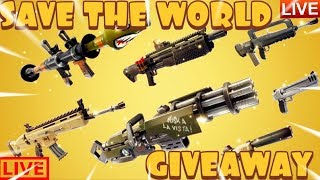 FORTNITE STW LIVE GIVEAWAY WITH URBOI BRANDON[FIRST COME FIRST SERVE]