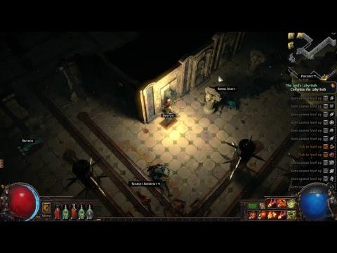 Path Of Exile  game play walkthrough