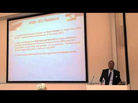 Lecture at Corvinus University, Budapest on India-EU Relations [29 April 2014]